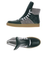 Kris Van Assche Krisvanassche Footwear High Tops And Trainers Men Dark Green