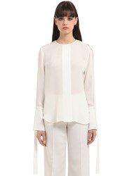 Calvin Klein Double Georgette Shirt