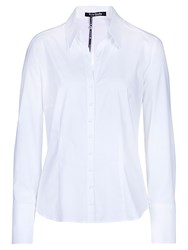 Betty Barclay Fitted Long Sleeved Shirt Bright White