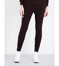 Sundry Jersey Jogging Bottoms Heather Merlot
