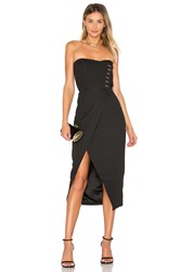 Misha Collection Pasquale Dress Black