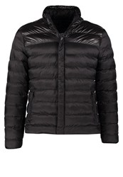 Urban Classics Block Bubble Winter Jacket Black