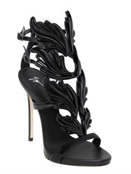 Giuseppe Zanotti 120Mm Leaf Patent Leather Sandals