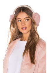 Hat Attack Knit Rabbit Earmuffs Pink