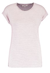 Zalando Essentials Print Tshirt White Red Off White