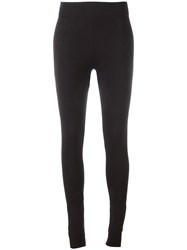 Thom Krom Plain Leggings Black