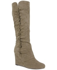 Mia Renee Tall Wedge Boots Women's Shoes