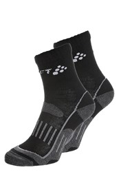 Craft 2Pack Sports Socks Schwarz Black