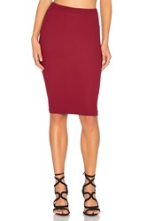 Bcbgeneration Seamless Midi Skirt Red
