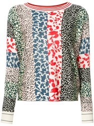 Sonia Rykiel Animal Pattern Sweatshirt