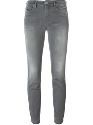 Diesel Black Gold Skinny Jeans Grey