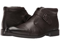 Stacy Adams Rawley Cap Toe Monk Strap Boot Brown Men's Boots