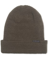 Rip Curl Men's Crafted Beanie Military Green