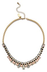 Women's Kate Spade New York 'Clink Of Ice' Collar Necklace Gold Multi