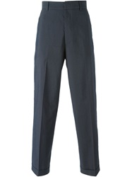 Dolce And Gabbana Vintage Pinstripe Trousers Grey