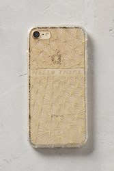 Anthropologie Molly Hatch Iphone 7 Case Gold
