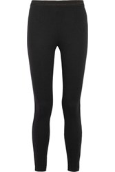 Alexander Wang T By Stretch Twill Leggings Black
