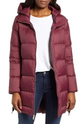 Marc New York Packable Puffer Jacket Wine