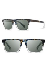 Shwood Men's 'Govy 2' 53Mm Sunglasses Blue Nebula Elm G15 Blue Nebula Elm G15