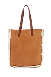 Ugg Claire Genuine Sheepskin Tote Brown