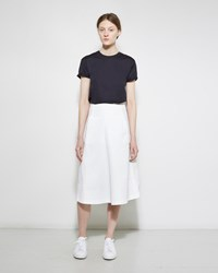 Alexander Wang Washed Cotton Midi Skirt