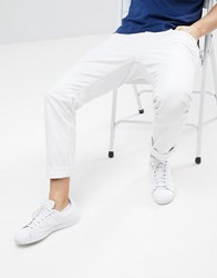 Esprit Slim Fit 5 Pocket Trouser White