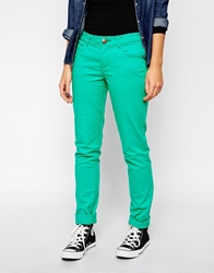 Only Nynne Skinny Fit Jeans Vividgreen