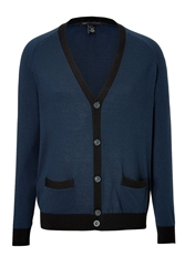 Marc By Marc Jacobs Silk Cotton Cashmere Cardigan