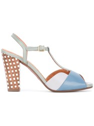 Chie Mihara T Bar Sandals Blue
