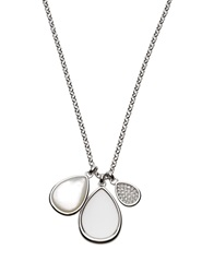 Fossil Necklaces Silver