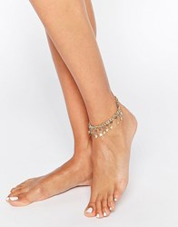 New Look Star Ankle Bracelet Grey