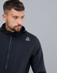 Reebok Training Woven Jacket In Black Dh1949