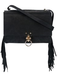 Andrea Incontri 'Luck Fringe' Shoulder Bag Black
