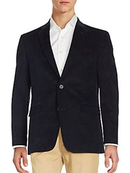 Tommy Hilfiger Long Sleeve Cotton Blend Jacket Navy