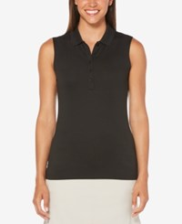 Callaway Sleeveless Golf Polo Caviar