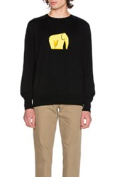 Loewe Elephant Sweater In Black