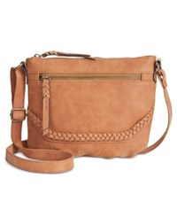 Styleandco. Style Co. Freestyle Mini Crossbody Only At Macy's Cognac
