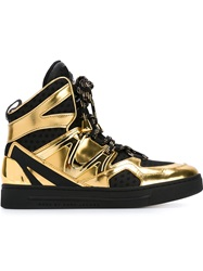 Marc By Marc Jacobs 'Ninja' Hi Top Sneakers Black