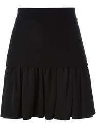 Fausto Puglisi Pleated Mini Skirt Black