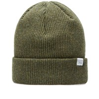 Norse Projects Classic Beanie Green