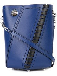 Proenza Schouler Small Hex Bucket Bag Women Leather One Size Blue