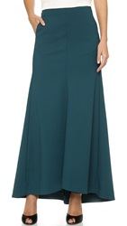 Tibi Maxi Skirt Bay Teal