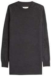 Maison Martin Margiela Maison Margiela Wool Sweater Dress Grey
