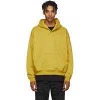Fear Of God Yellow Everyday Henley Hoodie