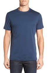 Robert Barakett Men's 'Georgia' Crewneck T Shirt Alaska Blue