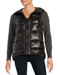 Vince Camuto Hooded Down Puffer Vest