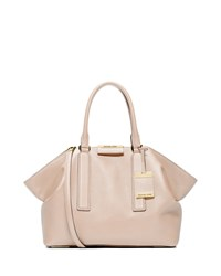 Lexi Large East West Satchel Bag Vanilla Michael Kors Collection White