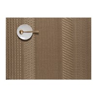 Chilewich Mixed Weave Luxe Placemat Gold