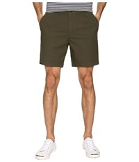 Dockers Standard Pull On Shorts Olive Canvas Men's Shorts