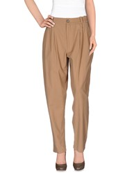 Marios Trousers Casual Trousers Women Camel